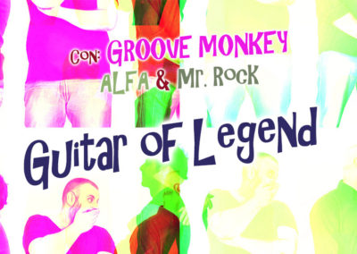 Guitar of legend – Groove Monkey in concerto con la narrazione di Alfa e Mr. Rock – sabato 8 febbraio ore 21.00