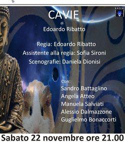 CAVIE – SABATO 22 NOVEMBRE ALLE ORE 21.00