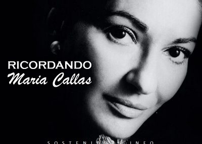 Ultima Diva – concerto in omaggio a Maria Callas – domenica 7 maggio ore 21